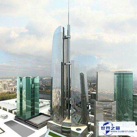 【图】欧洲第一大高楼俄罗斯联邦大厦竟然是咱们亚洲