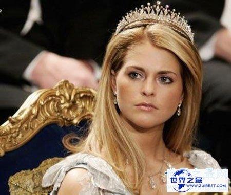 【图】欧洲最美公主玛德琳公主的梦境婚礼
