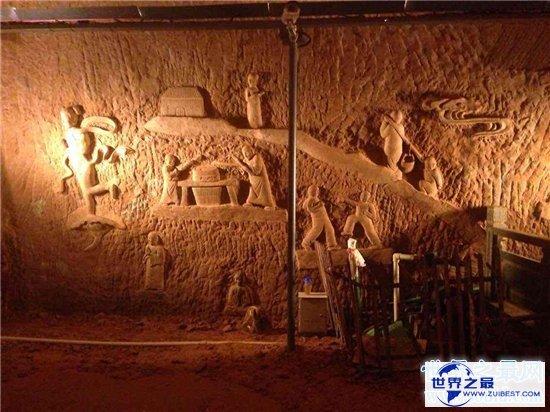 【图】龙游石窟称为世界第九大奇迹 发现大量超古代科