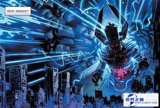 【图】漫威动漫行星吞噬者才能爆炸 但是和灭霸比还是