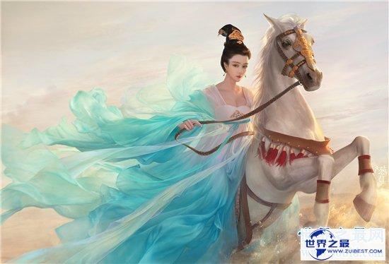 【图】中国现代四大美女 貂蝉在吕布死后不知所踪