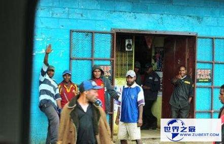 世界上最穷的国家之一巴布亚新几内亚