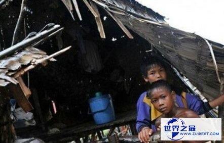 世界上最穷的国家之一柬埔寨