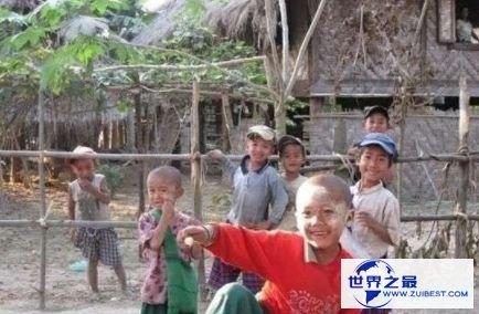 世界上最穷的国家之一缅甸