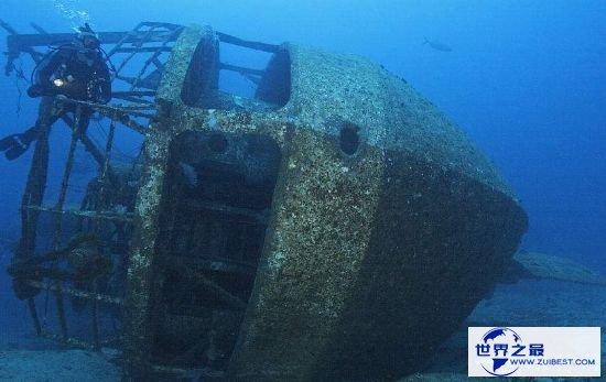 寰球最大盜墓 掠取二战期间沉船遗留宝藏
