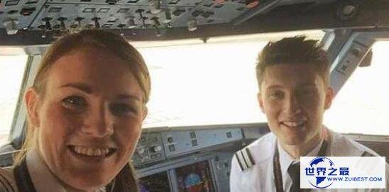 最年轻的美女机长凯特·威廉姆斯 年仅26岁就胜任机长的职位