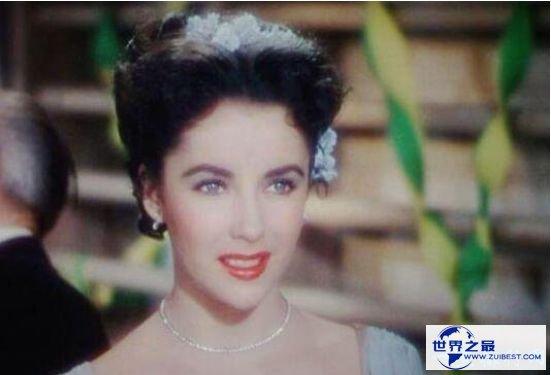 世界最美的眼睛 伊丽莎白泰勒那诱人心神的紫眸
