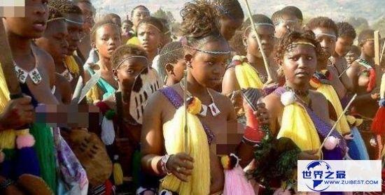 世界最开放的非洲女人 艾滋病的众多地