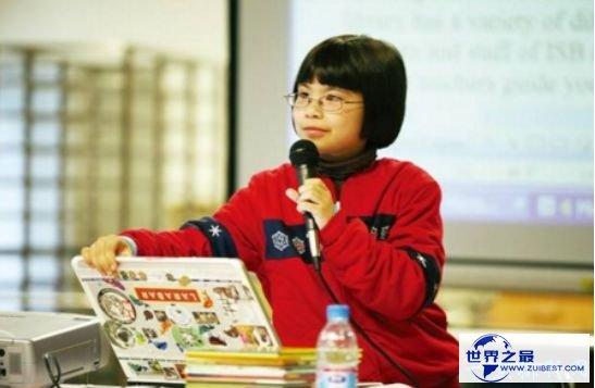 """世界上最聪明的孩子 """"美国文坛小伟人""""邹奇奇"""