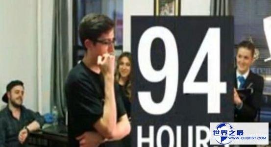 延续看电视工夫最久的人,美国男子看电视长达94小时