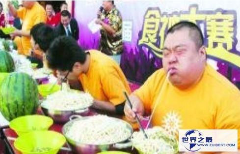 世界上最能吃的人 湖南大胃王37分钟内吃下160个鸡蛋