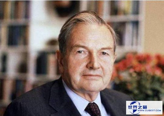 世界上最老的亿万富翁去世,一代传奇戴维·洛克菲勒享年101岁