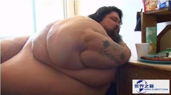 美国男子瑞奇·纳普提体重高达800斤 创下吉尼斯神话同时付出了生命