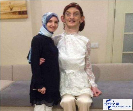 世界最高少女,土耳其少女17岁身高就高达2.14米