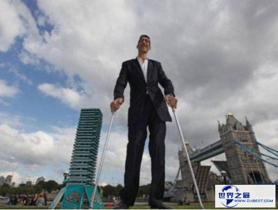 世界第一高人,苏尔坦·科森以2.4米身高胜利突破吉尼斯纪录
