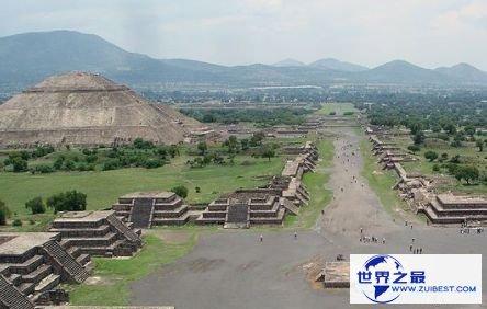 特奥蒂瓦坎古城遗迹,墨西哥