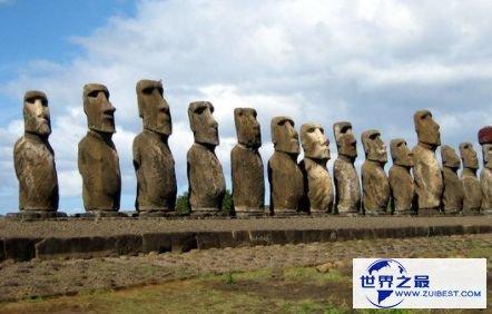 摩艾石像,复活节岛