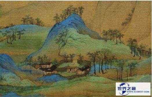 2.《千里江山图》王希孟