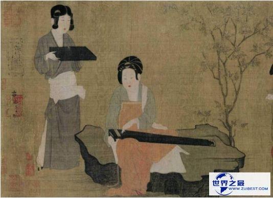 4.《唐宫仕女图》张萱、周昉