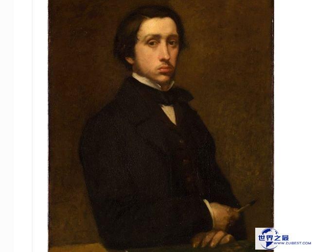 埃德加·德加 1855年