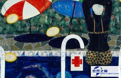 《跳水》(1992)——210万美元(克里斯蒂拍卖行)