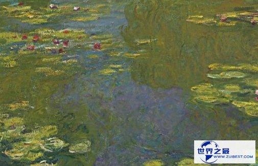 《睡莲》(1919年)——2700万美元(克里斯蒂拍卖行)