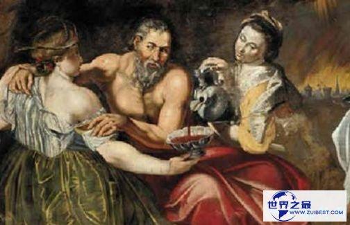 《罗得与他的女儿们》(约1613-1614年作)——5800万美元(克里斯蒂拍卖行)
