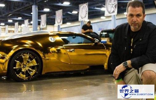 布加迪威龙镀金版——1000万美元