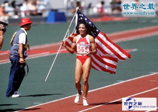 【图】女子100米世界纪录,10.49秒(已保持了30年)