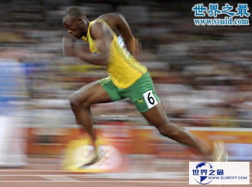 【图】100米世界纪录,9.58秒(男子百米飞人应战人类极限