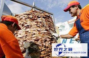 【图】世界上最大的猪肉串