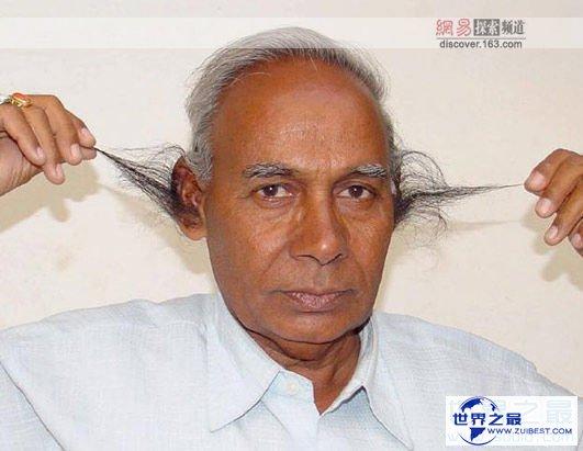 【图】世界上最长的耳毛